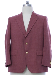 1980's Mens Disco Blazer Sport Coat Jacket