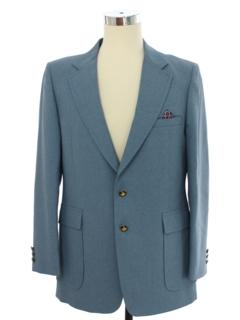 Brown Sport Coat Johnny Carson Blazer Jacket 1970s Vintage Suit Jacket Preppy Sport Coat Men/'s Size Medium