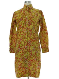 1960's Womens/Girls Hippie Dress
