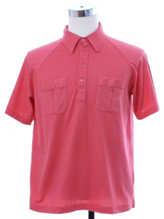 1980's Mens Golf Style Polo Shirt