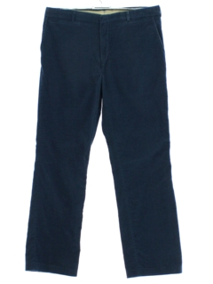 1980's Mens Thin Wale Corduroy Pants