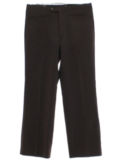 1970's Mens Brown Leisure Pants