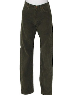 1970's Mens Corduroy Pants