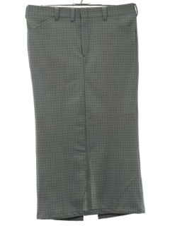 1970's Womens Leisure Pants Maxi Skirt