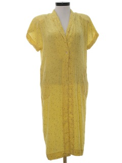 1980's Womens Lingerie - Totally 80s Nightgown