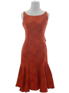 1960's Womens Sleeveless Sheath Dress