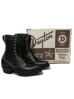 1980's Womens Accessories - Western Work Boots Shoes