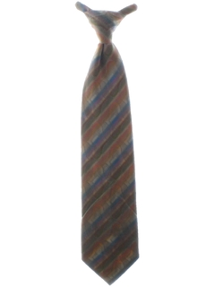 1970's Mens Clip On Wide Disco Necktie