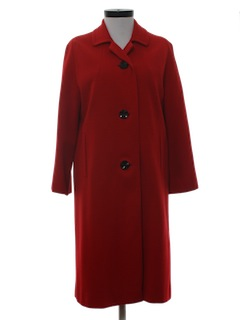 1960's Womens Duster Stlye Overcoat Jacket