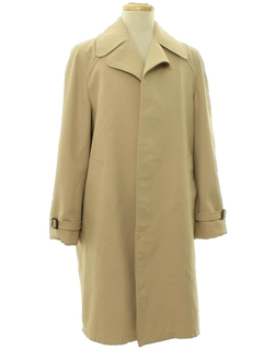 1970's Mens Raincoat Trenchcoat Jacket