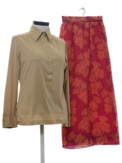1970's Womens Mix and Match Suit