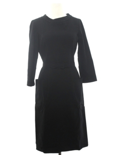 1960's Womens Wool Blend Dress
