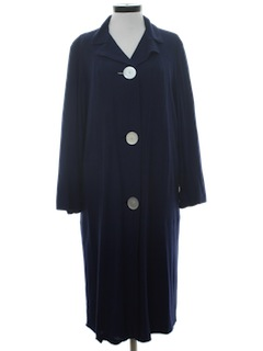 1960's Womens Lightweight Duster Jacket
