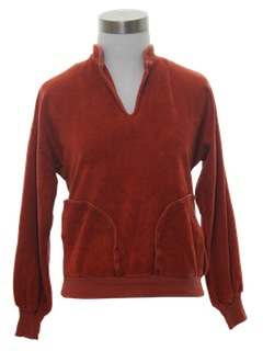 1960's Womens Velour Shirt
