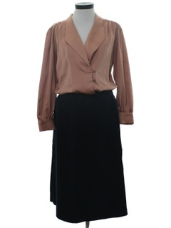 1980's Womans Combo Skirt Suit