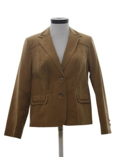 1970's Womens Ultra Suede Jacket