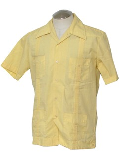 1970's Mens Guyaberra Shirt