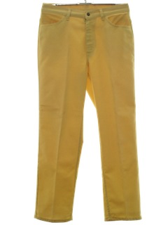 1960's Womens Jeans-Cut Pants*