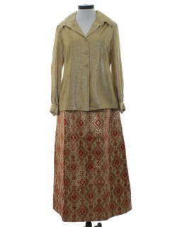1960's Womens Evening Separates Suit
