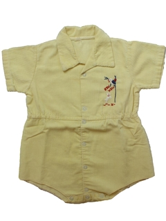 1950's Mens/Childs  One Piece Romper Shorts