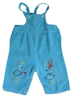 1950's Mens/Childs Overalls Pants