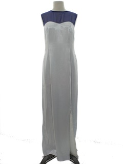 1980's Womens Cocktail or Prom Maxi Dress