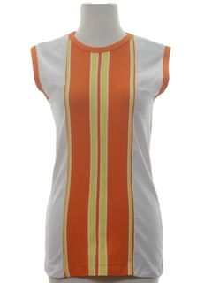 1970's Womens Mod Tunic Shirt