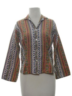 1960's Womens or Girls Mod Shirt