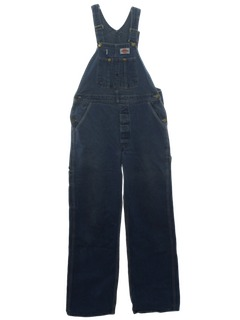 1980's Mens Denim Overalls