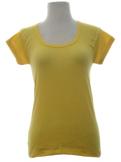 1970's Womens Babydoll T-Shirt