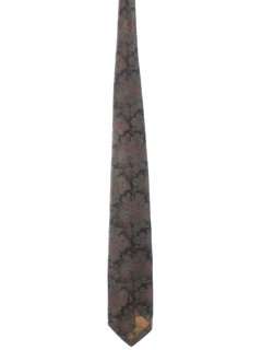 1970's Mens Wide Necktie
