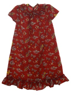 1950's Womens/Childs Hawaiian Dress*