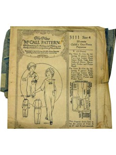 1920's Womens/Childs Pattern