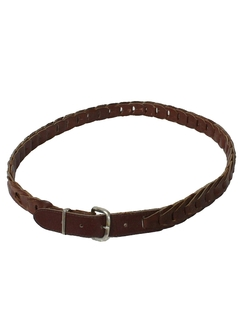 1960's Mens Accessories -  Leather Belt