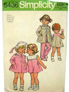 1970's Womens/ChildsPattern
