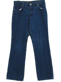 1990's Womens Flares Denim Pants
