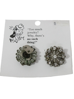 1960's Womens Sewing Accessories - Button Covers