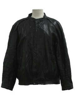 1980's Unisex Leather Jacket