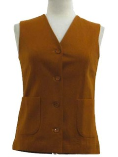 1960's Womens Tunic Vest