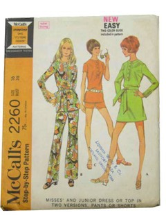 1970's Womens Pattern