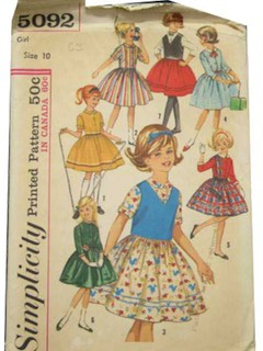 1960's Womens/Child Pattern
