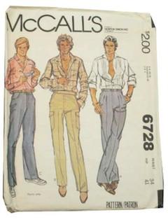 1970's Men Pattern
