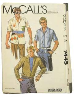 1980's Men Pattern