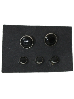 1970's Mens Accessories - Cufflinks/Studs