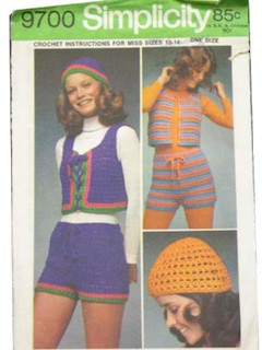 1970's Womens Crochet Pattern