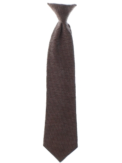 1970's Mens Clip-on Necktie