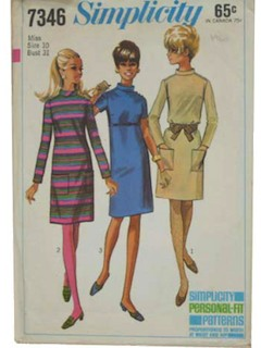 1960's Womens Pattern