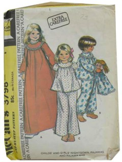 1970's Womens/Childs Pattern