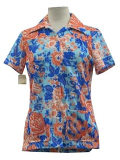 1960's Womens Casual Shirt