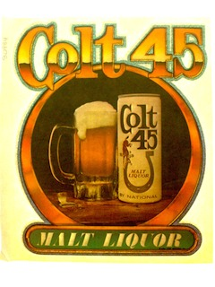 1970's Iron-Ons - Alcohol Themes